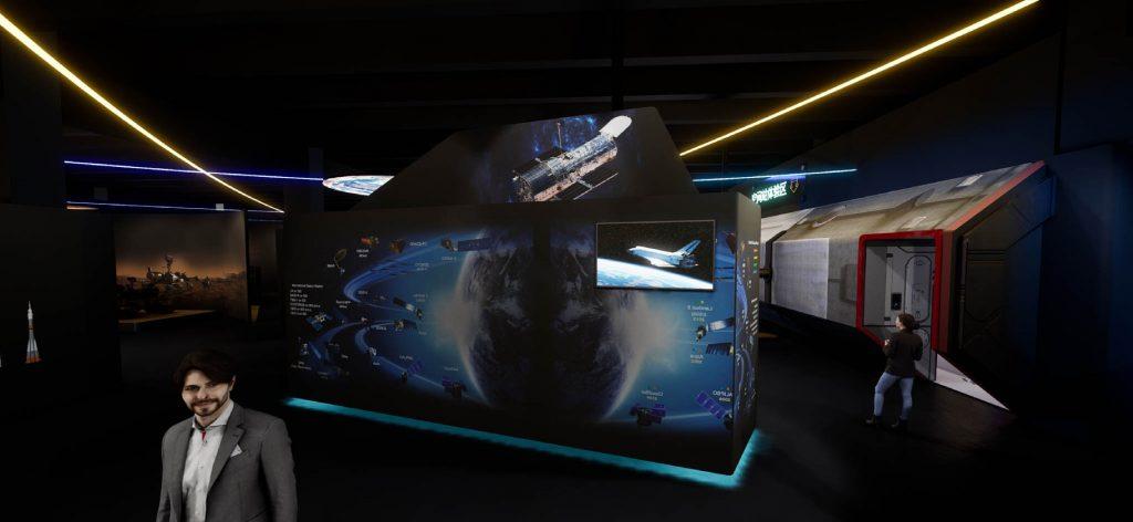 重庆开拓卫星企业展厅插图(6)