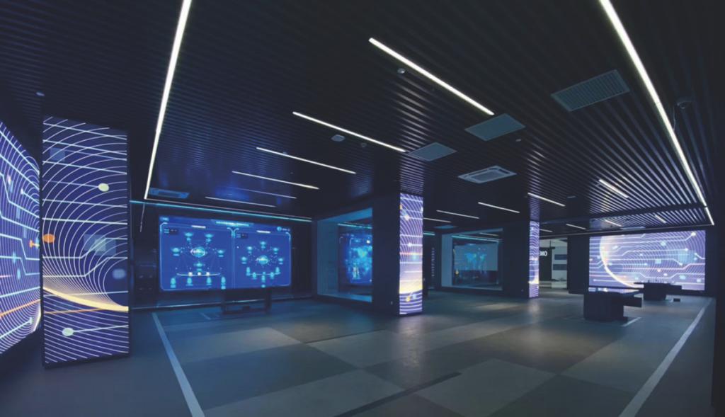 广州市知识城国际数字枢纽体验厅插图(2)
