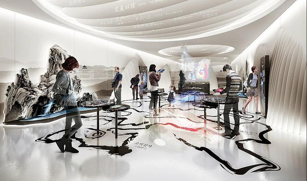 岩星建设|展厅设计的三大设计风格插图
