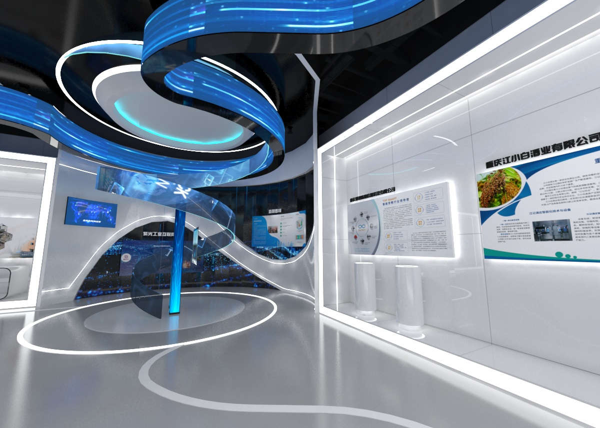 企业展厅设计必须具有企业的特色插图(1)