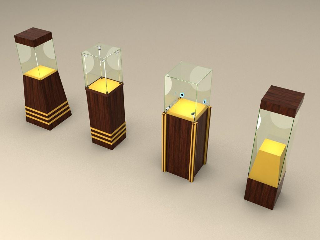 全息展示柜与传统展示柜的区别插图(1)