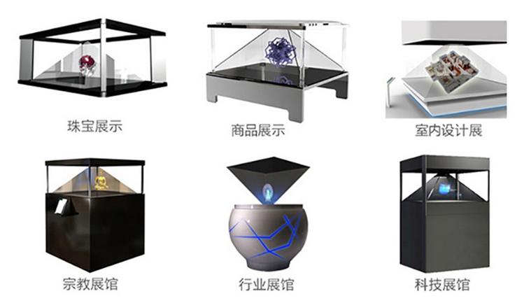全息展示柜与传统展示柜的区别插图